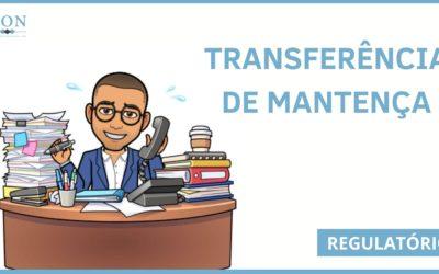 TRANSFERÊNCIA DE MANTENÇA